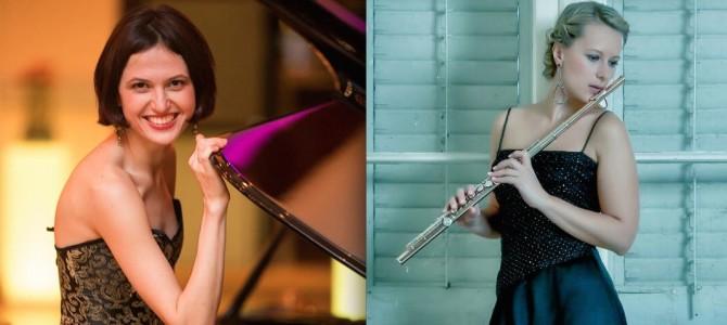 Konzert | Anna Wierer & Alina Pronina spielen J.S. Bach, F.Schubert, F. Poulenc, F. Lizst u.a. am So. 18.10.2015