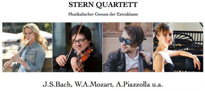 Konzert Stern Quartett am 03. Juni 2018 um 18:00 Uhr