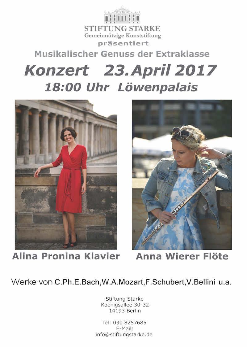 Konzert Löwenpalais 23.04.2017