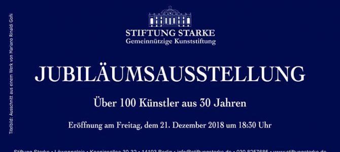 30 Jahre Stiftung Starke – Jubiläumsausstellung am 21.12.2018